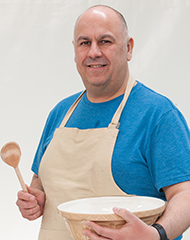 Luis, my favorite to win The Great British Baking Show. Image courtesy of PBS.