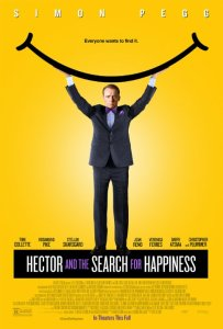 Movie poster for Hector and the Search for Happiness