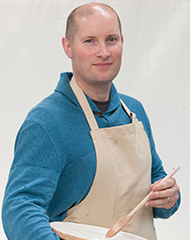 Richard, Five-Time Star Baker, from The Great British Baking Show. Image courtesy of PBS.