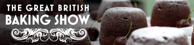 the Great British Baking Show Banner
