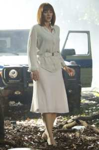 Watch where you step, Claire! You might break a heel. Image courtesy of Universal Pictures.