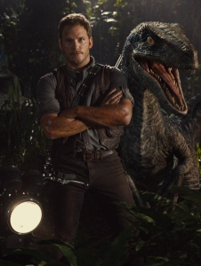 Alpha and Beta raptors Owen and Blue. Image courtesy of Universal Pictures.