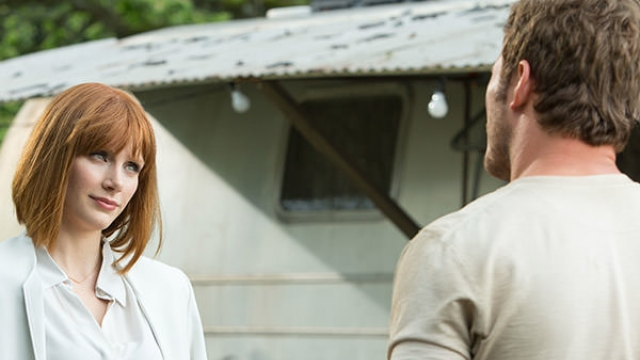 Can you believe Claire and Owen end up together? Image courtesy of Universal Pictures.