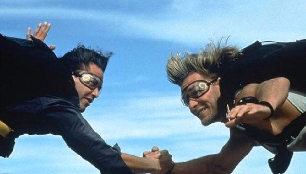 Those were some good times: the original Point Break. Image courtesy of Twentieth Century Fox.